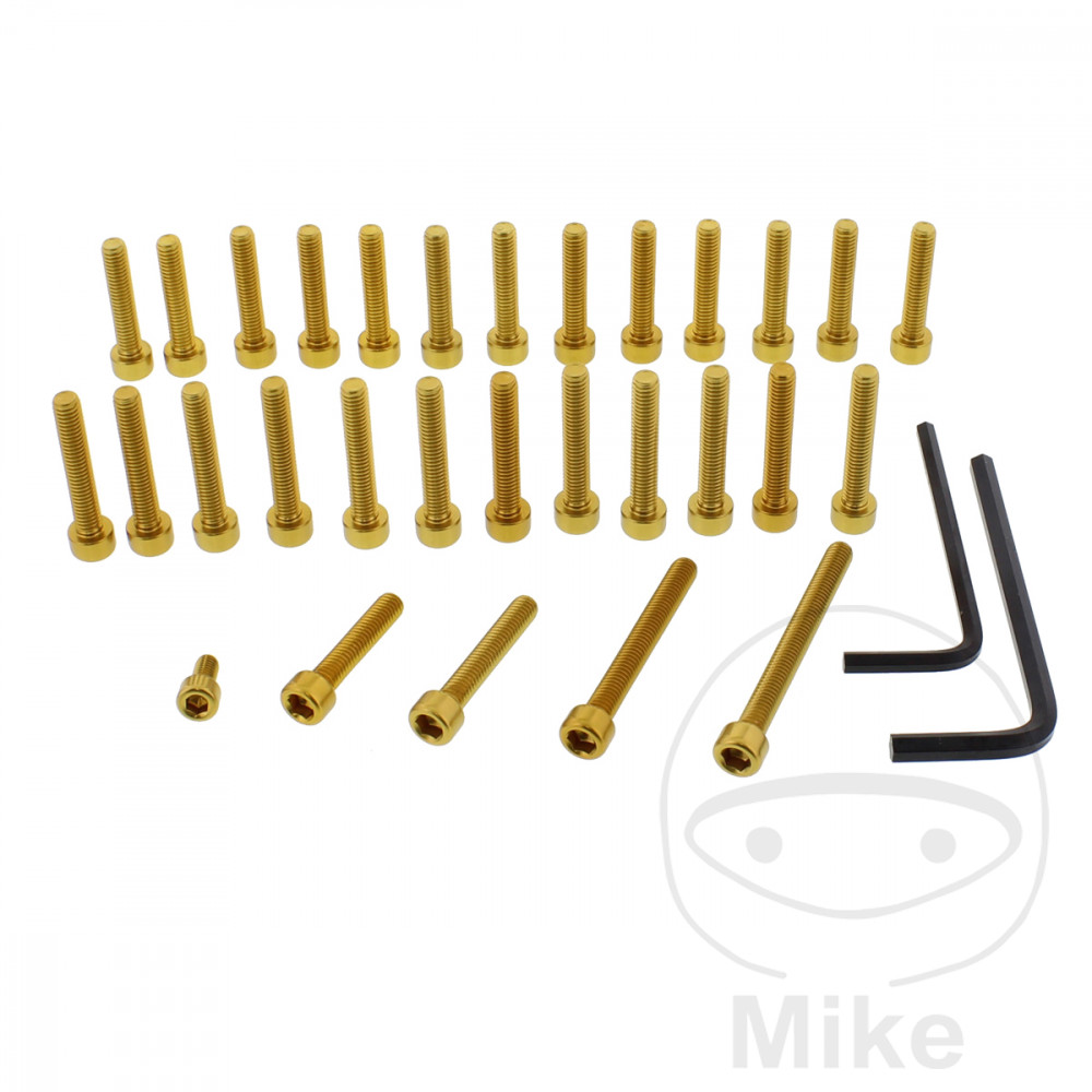 PROBOLT ENGINE BOLT SET ALUMINIUM GOLD - 775.88.52