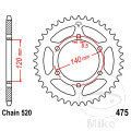 REAR SPROCKET 40 TOOTH PITCH  520 INNER DIAMETER 120 BOLT SPACING 140