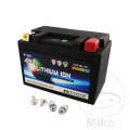 BATTERY MOTORCYCLE LTM18L SKYRICH LITHIUM ION WITH VOLTAGE DISPLAY AND OVERCHARGE PROTECTION