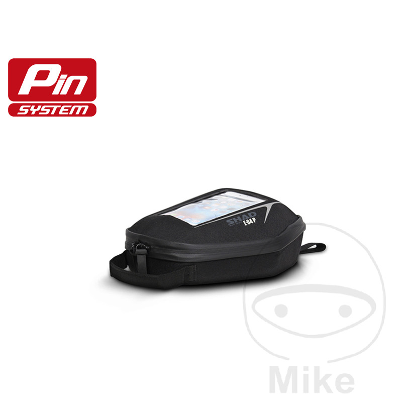 TANK BAG BLACK 3L SHAD E04P FOR PIN SYSTEM - 711.07.89