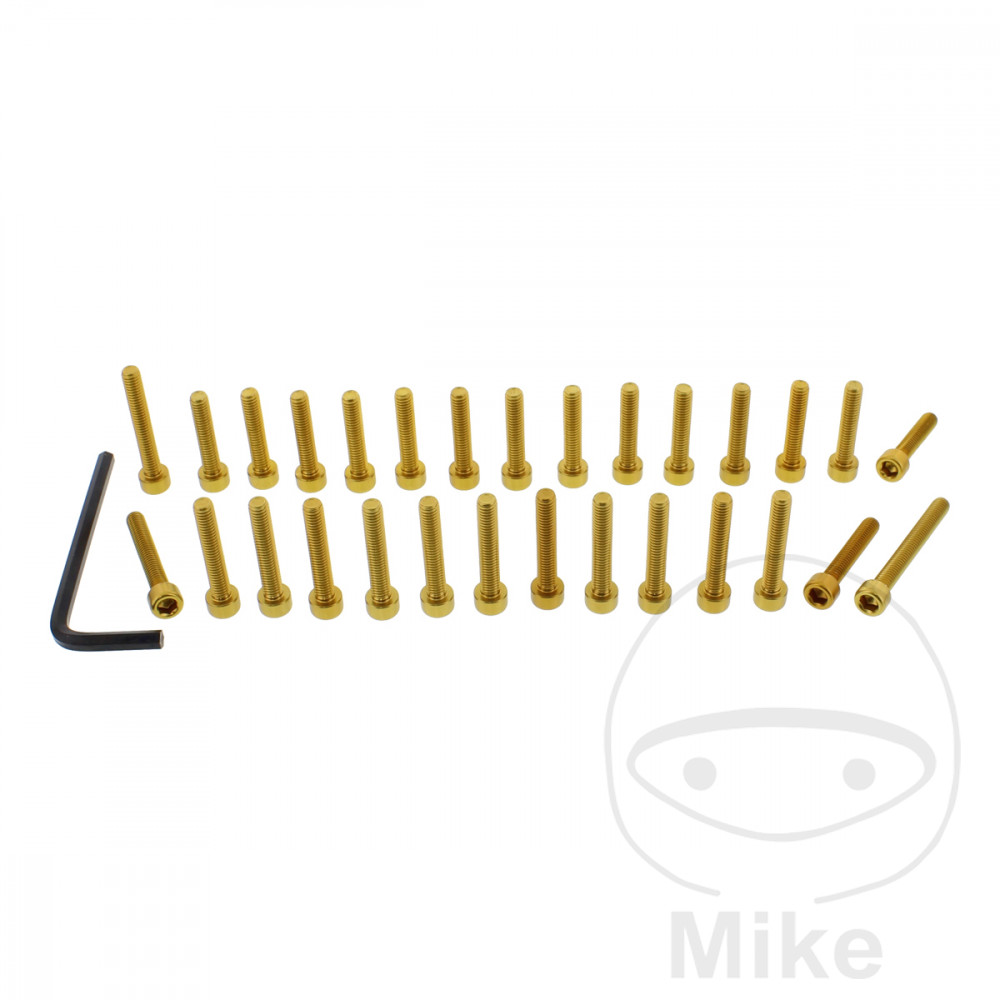 PROBOLT ENGINE BOLT SET ALUMINIUM GOLD - 775.88.53