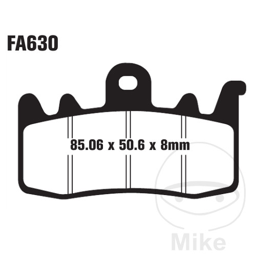 BRAKE PADS SINTERED HH EBC FA630HH ALTN 7870815 - 732.64.19