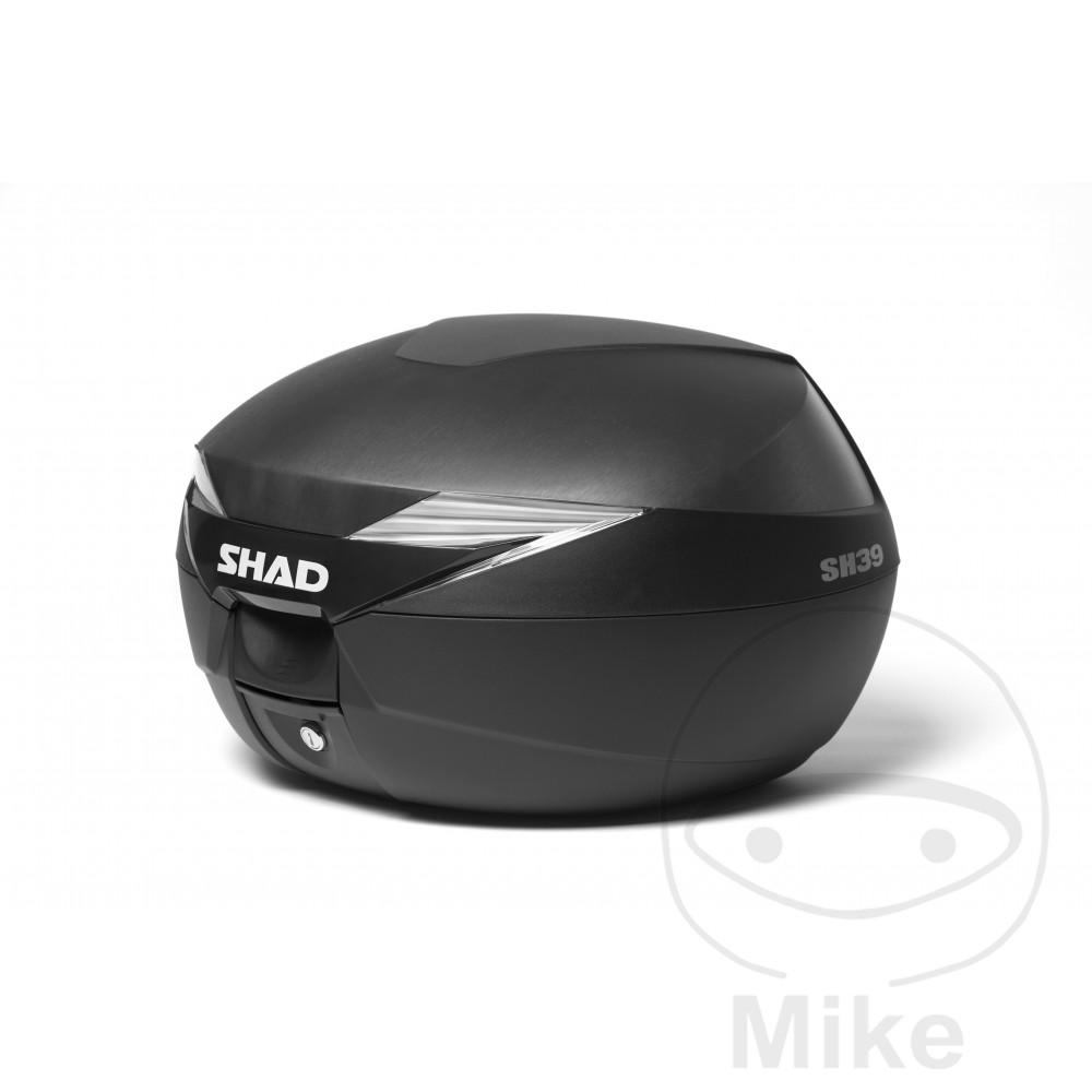 SHAD TOPBOX 39L SH39 BLACK C/W MOUNTING PLATE - 711.05.23
