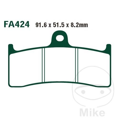 BRAKE PADS SINTERED HH EBC FA424HH ALTN 7870850 - 732.22.25