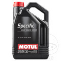 ENGINE OIL 0W30 4-STROKE 5L MOTUL SYNTHETIC SPECIFIC 506