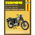 MANUAL DE REPARACIÓN INGLÉS Triumph TRIUMPH 350 & 500 UNIT TWIN
