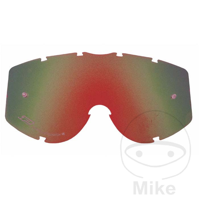 PROGRIP GOGGLE LENS RED 3204 Multilayered - 712.00.25