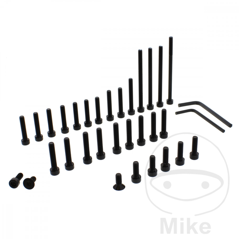 PROBOLT ENGINE BOLT SET ALUMINIUM BLACK - 775.88.17