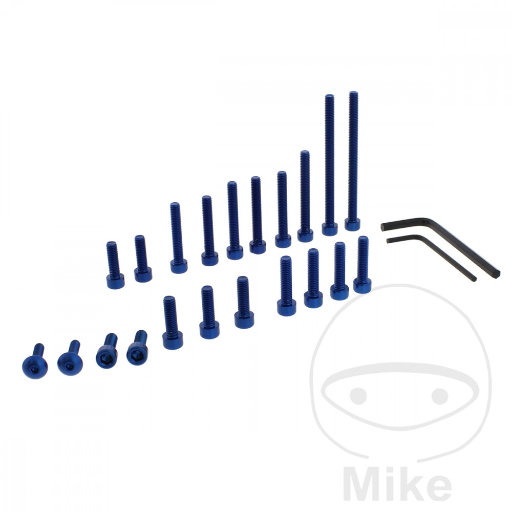 PROBOLT ENGINE BOLT SET ALUMINIUM BLUE - 775.87.47