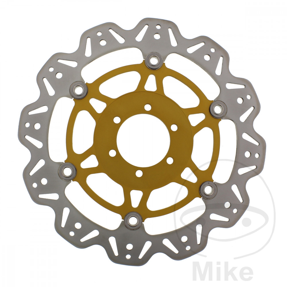 BRAKE DISC VEE FRONT EBC GOLD - 760.60.04