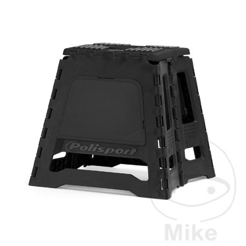 montagebock schwarz wei polisport motomike. Black Bedroom Furniture Sets. Home Design Ideas