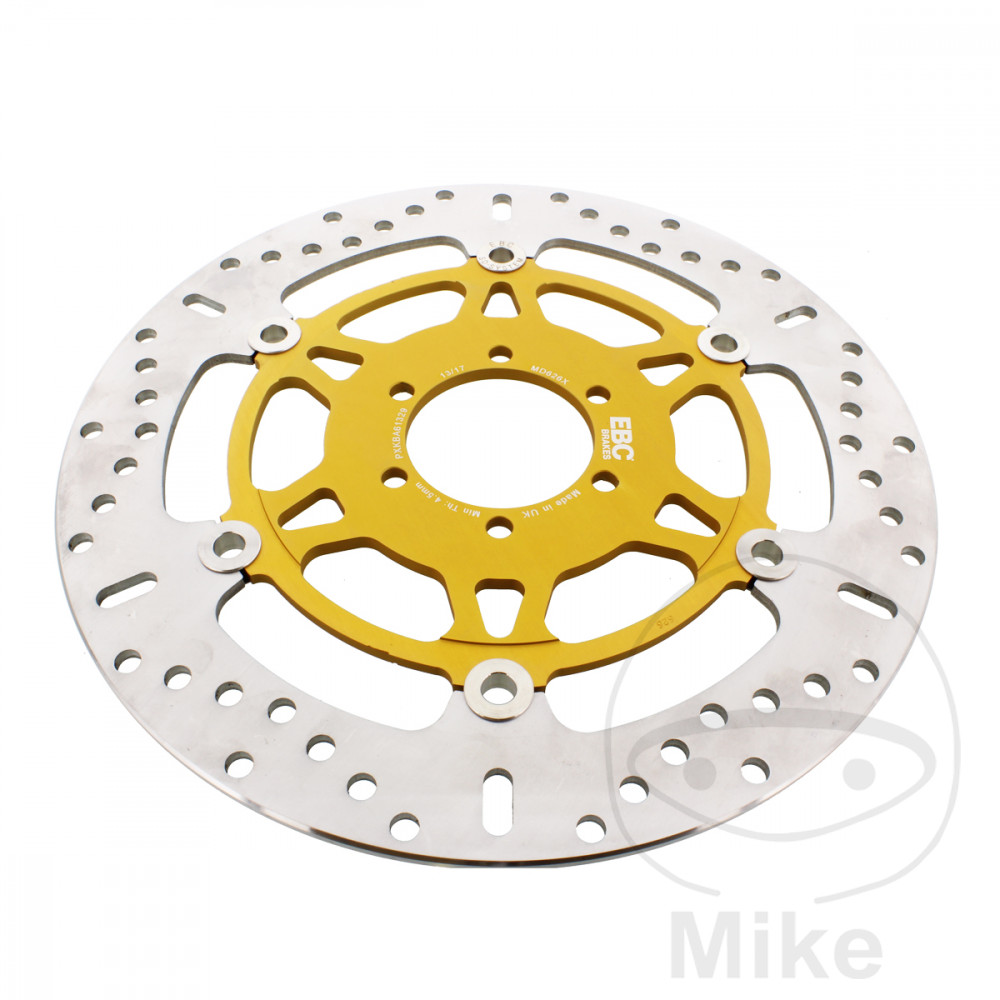BRAKE DISC EBC X SERIES STAINLESS STEEL - 760.04.54
