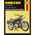 MANUAL DE REPARACIÓN INGLÉS NOR NORTON COMMANDO 1968 - 1977