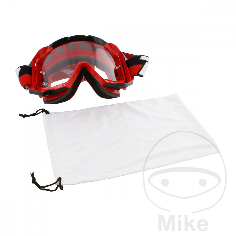 GOGGLES MOTO LS 3200 RED - 712.00.58