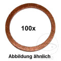 COPPER SEALING WASHER 10X14X1 100 PIECES