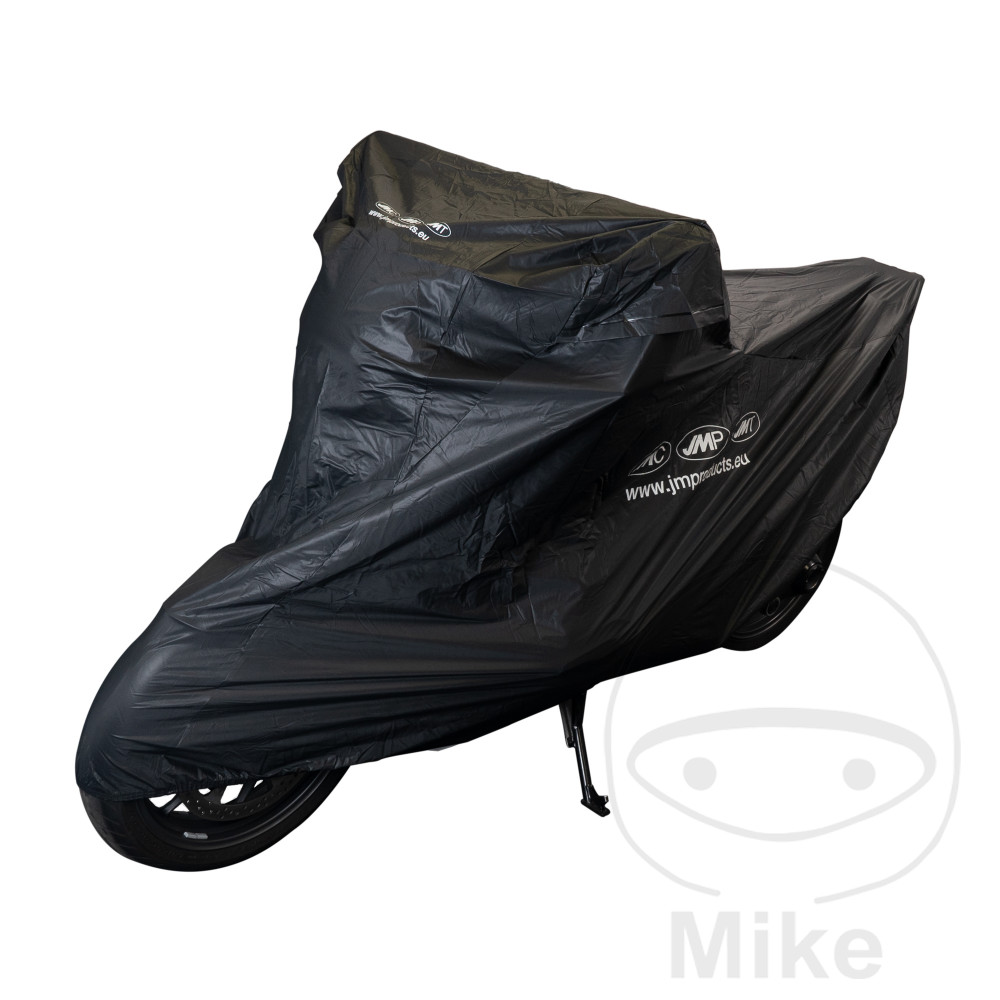 JMP BIKE COVER SCOOTER BLACK MOTOMIKE LOGO PREMIUM QUALITY - 711.56.04