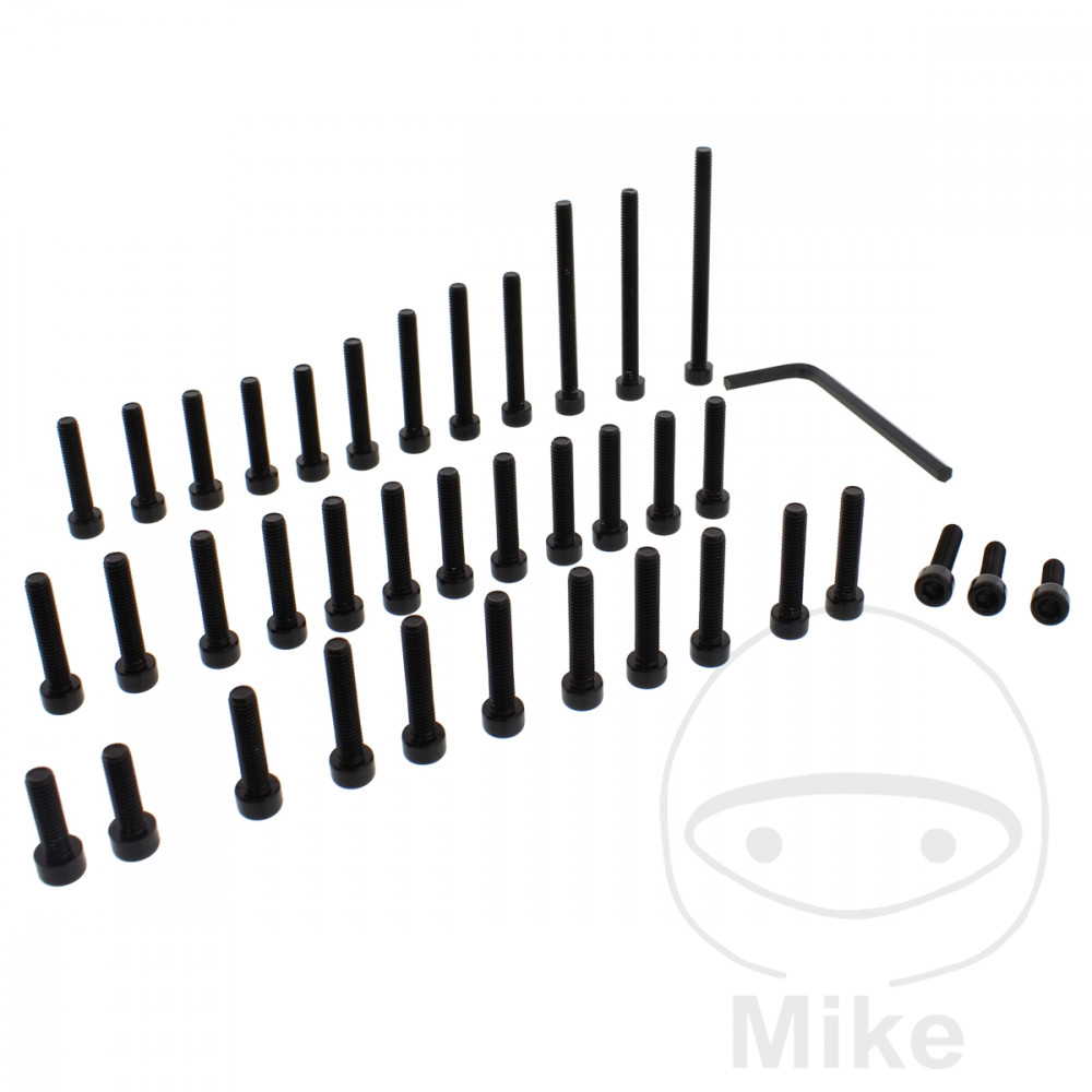 PROBOLT ENGINE BOLT SET ALUMINIUM BLACK - 775.88.46