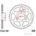 REAR SPROCKET 47 TOOTH PITCH  420 INNER DIAMETER 70 BOLT SPACING 90