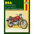 MANUAL DE REPARACIÓN INGLÉS BSA BSA A50 & A65 TWINS 1962 - 1973