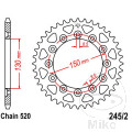 REAR SPROCKET 38 TOOTH PITCH  520 INNER DIAMETER 130 BOLT SPACING 150