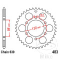 REAR SPROCKET 35 TOOTH PITCH  630 INNER DIAMETER 98 BOLT SPACING 130