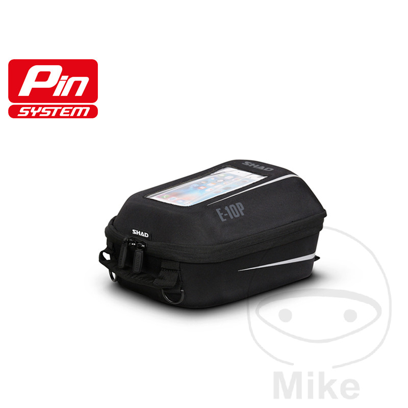 TANK RUCKSACK BLACK 5L SHAD E10P FOR PIN SYSTEM - 711.07.90