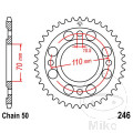 REAR SPROCKET 36 TOOTH PITCH  530 INNER DIAMETER 70 BOLT SPACING 110