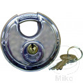 ROUND LOCK WITH TWO KEYS