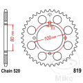 REAR SPROCKET 47 TOOTH PITCH  520 INNER DIAMETER 80 BOLT SPACING 100