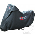 JMP BIKE COVER 500-1000cc BLACK MOTOMIKE LOGO PREMIUM QUALITY