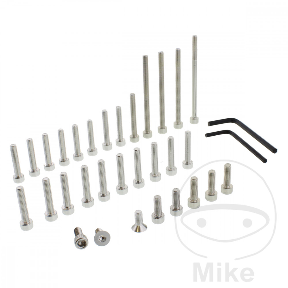 PROBOLT ENGINE BOLT SET ALUMINIUM SILVER - 775.88.21