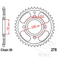 REAR SPROCKET 38 TOOTH PITCH  530 INNER DIAMETER 70 BOLT SPACING 105