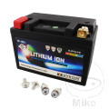 BATTERY MOTORCYCLE LTM18 SKYRICH LITHIUM ION WITH VOLTAGE DISPLAY AND OVERCHARGE PROTECTION