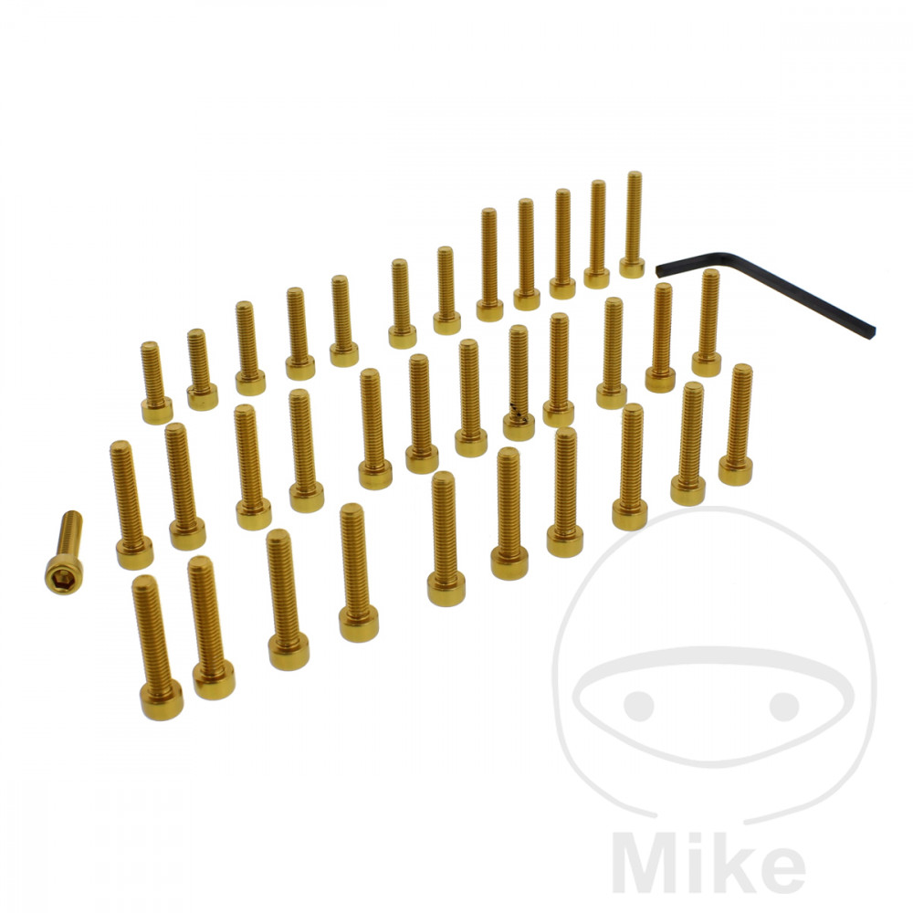 PROBOLT ENGINE BOLT SET ALUMINIUM GOLD - 775.88.34