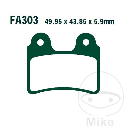 BRAKE PADS STD EBC FA303TT ALTN 7871100 - 732.32.64
