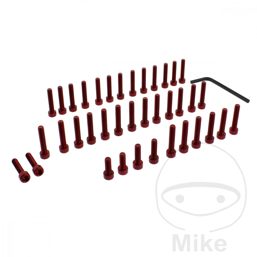 PROBOLT ENGINE BOLT SET ALUMINIUM RED - 775.88.44