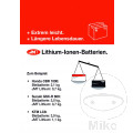 Poster Lithium-Ionen Batterie Inklusive Rolle