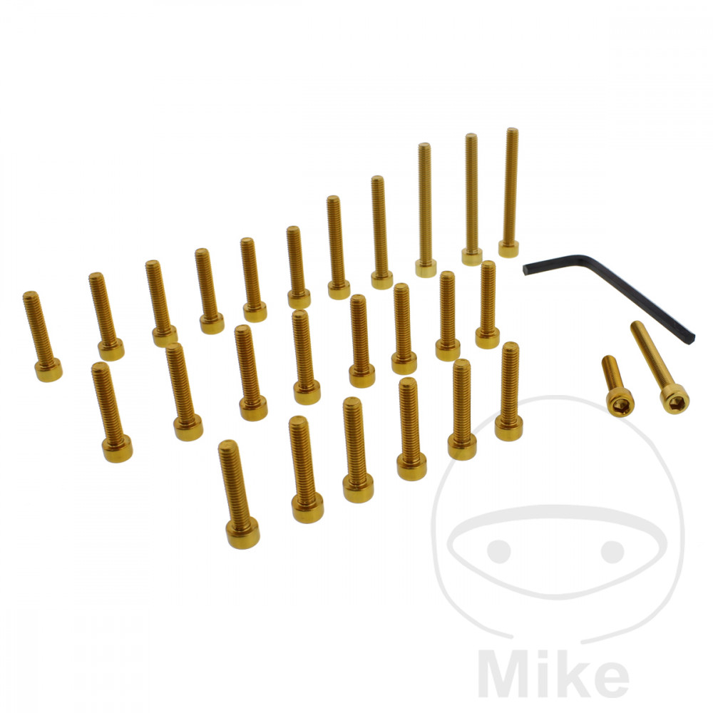 PROBOLT ENGINE BOLT SET ALUMINIUM GOLD - 775.87.42