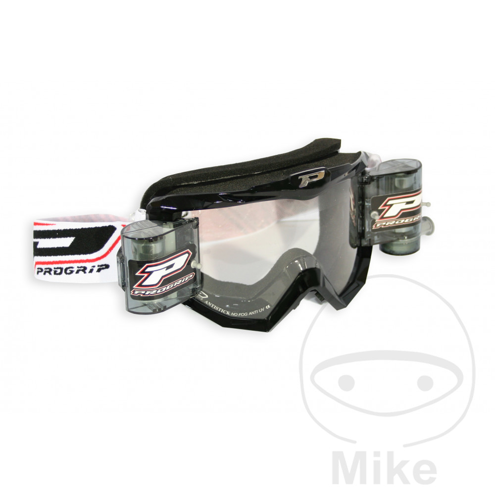 GOGGLES RACE PACK 3208 XL BLACK - 712.00.53