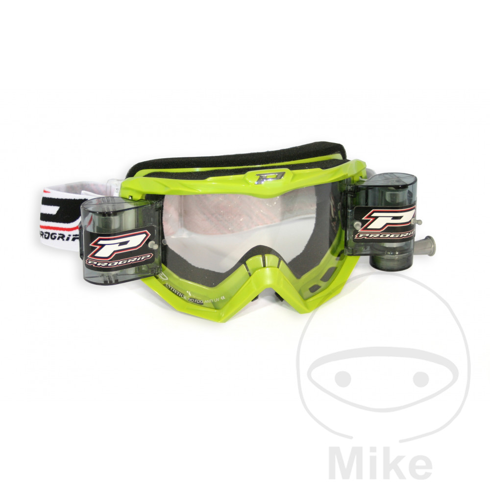 GOGGLES RACE PACK 3208 XL GREEN - 712.00.55