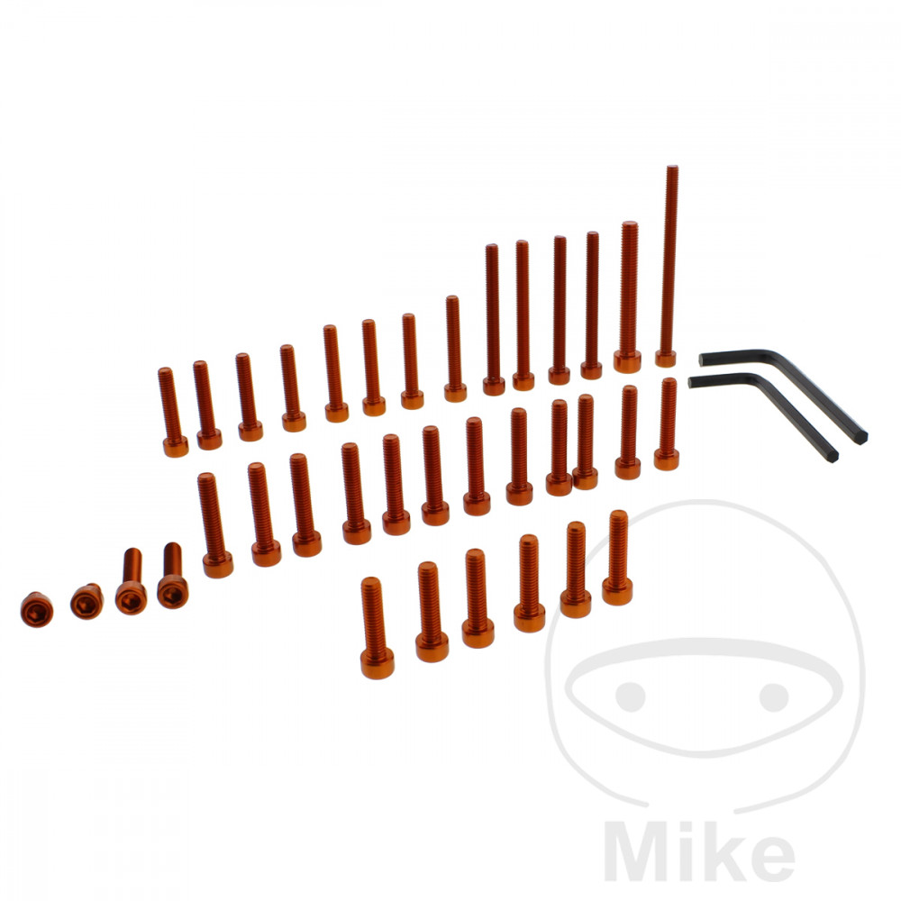 PROBOLT ENGINE BOLT SET ALUMINIUM ORANGE - 775.88.13