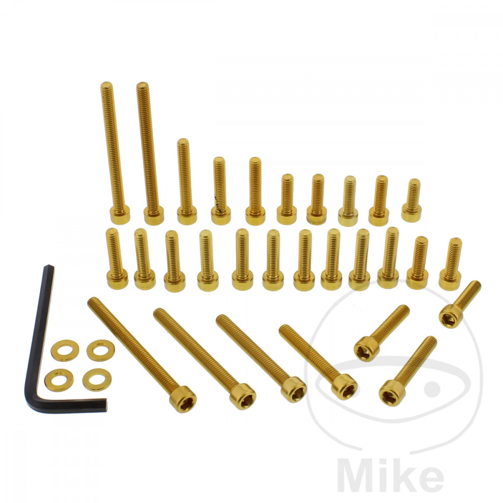 PROBOLT ENGINE BOLT SET ALUMINIUM GOLD - 775.88.24