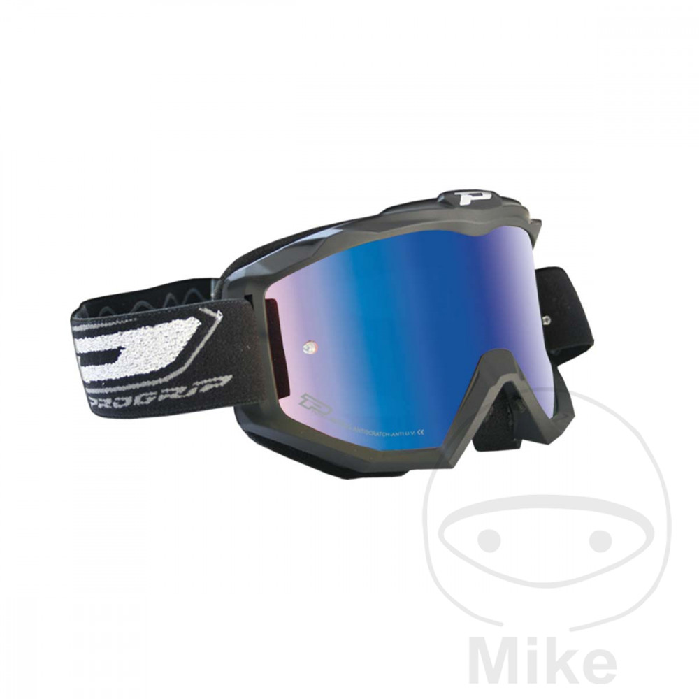 GOGGLES MULTILAYERED 3208 MATT BLACK/BLUE - 712.00.30