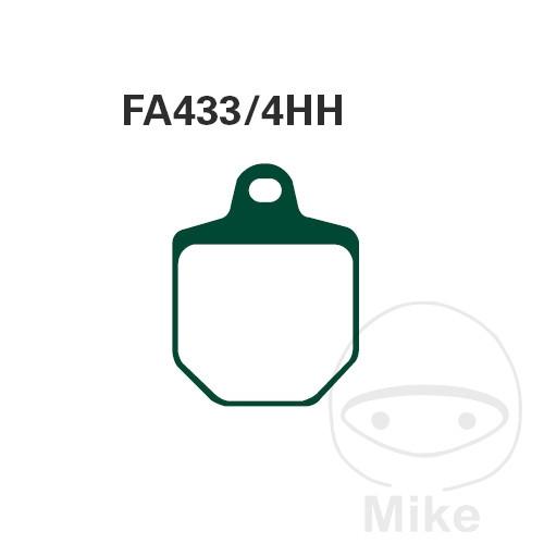 BRAKE PADS SINTERED HH EBC FA433/4HH - 732.24.72