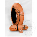 CAPIT TYREWARMER SUPREMA ORANGE Front 120/17 Rear 200/16-17´´