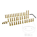 JMP ENGINE BOLT SET ALUMINIUM GOLD