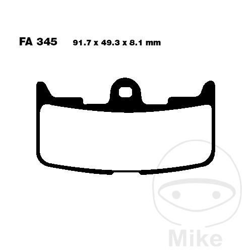 BRAKE PADS SINT EPFA EBC - 732.17.71
