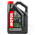 OIL 10W30 4-STROKE 4L MOTUL 5100 SEMI-SYNTH