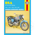 MANUAL DE REPARACIÓN INGLÉS BSA BSA A7 & A10 TWINS