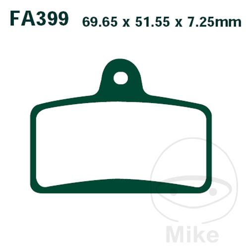 BRAKE PADS STD EBC FA399 ALTN 7875347 - 732.13.42